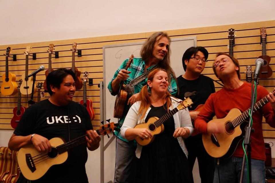 'ukulele jam