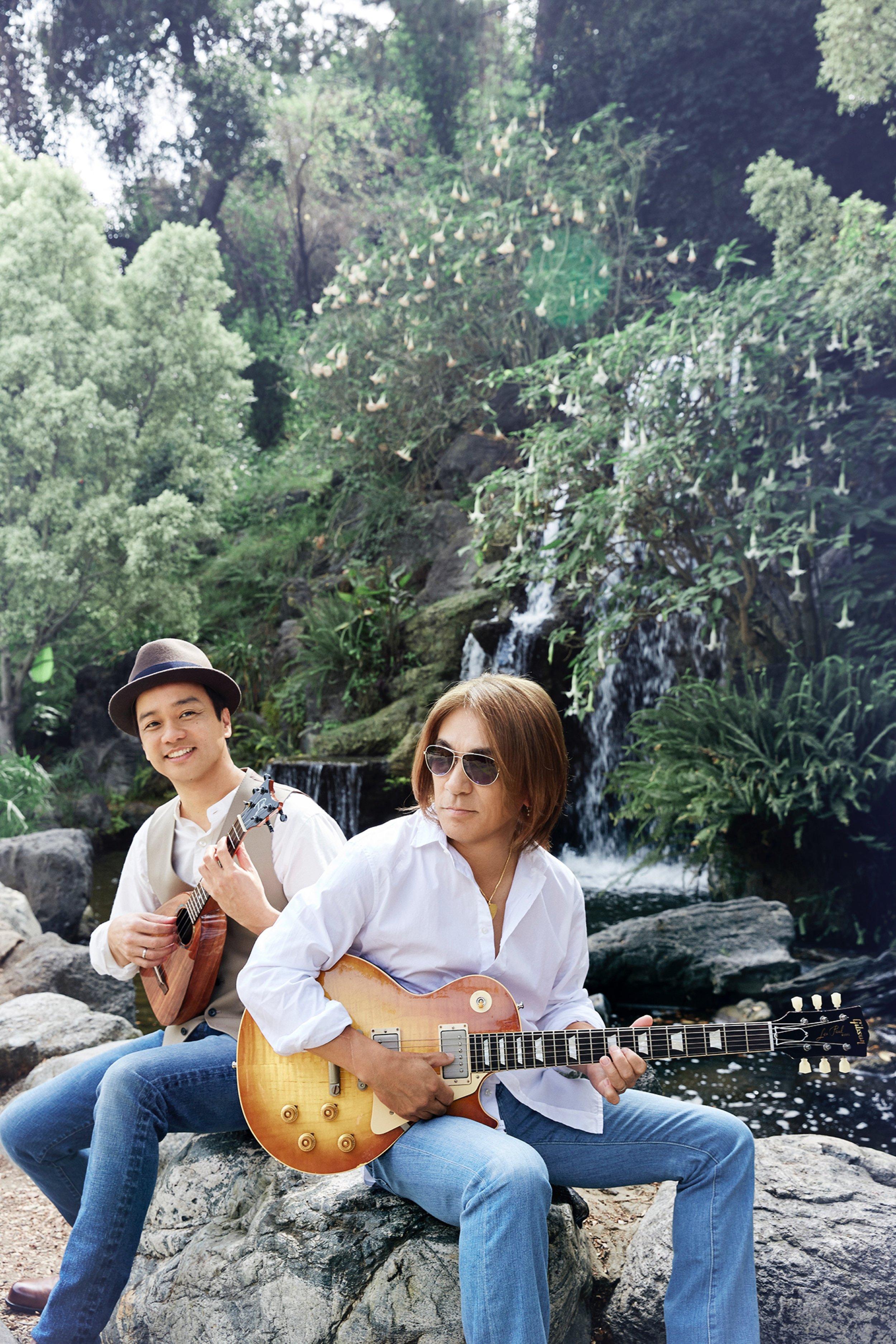 (L-R) Daniel Ho, Tak Matsumoto