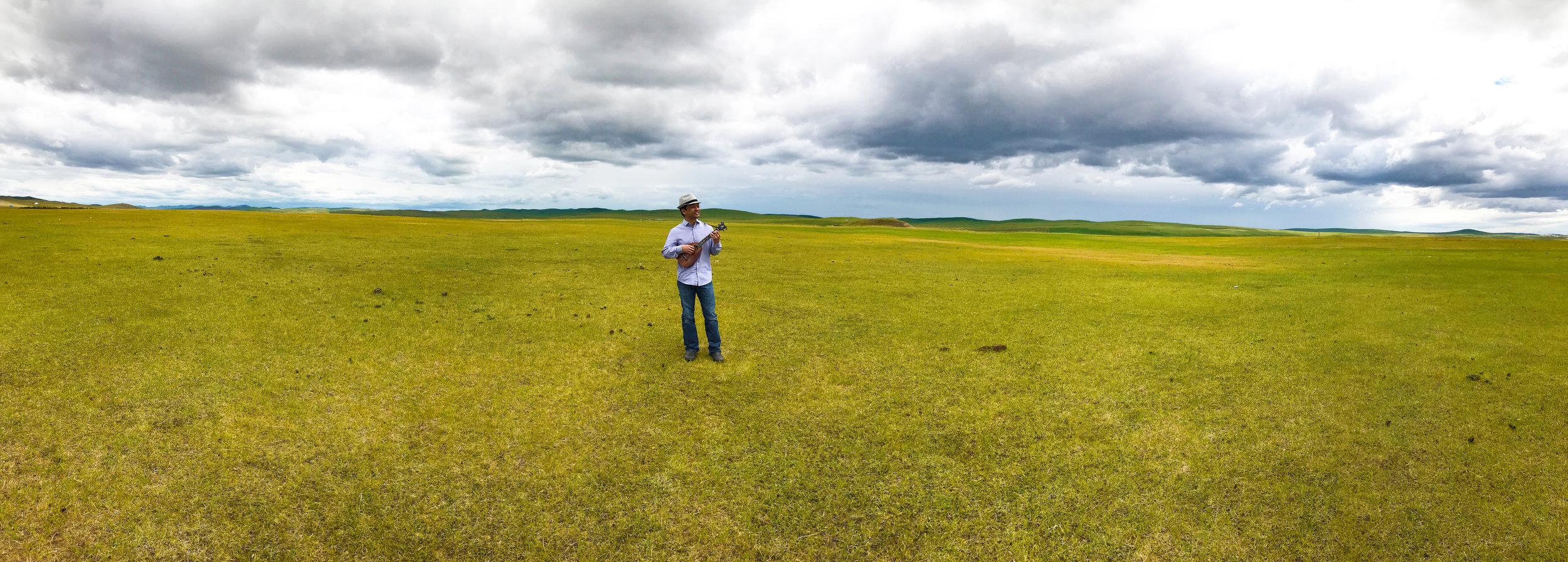 Daniel in Mongolia