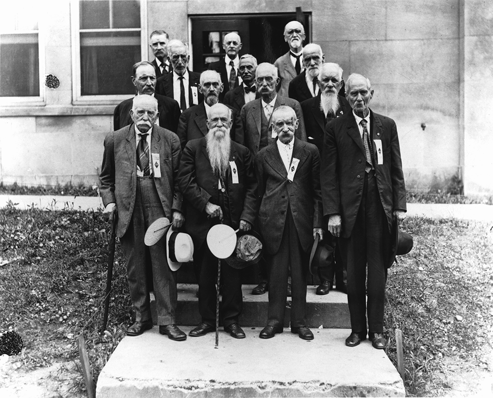1921 Reunion of the Old 3rd Michigan Infantry Association