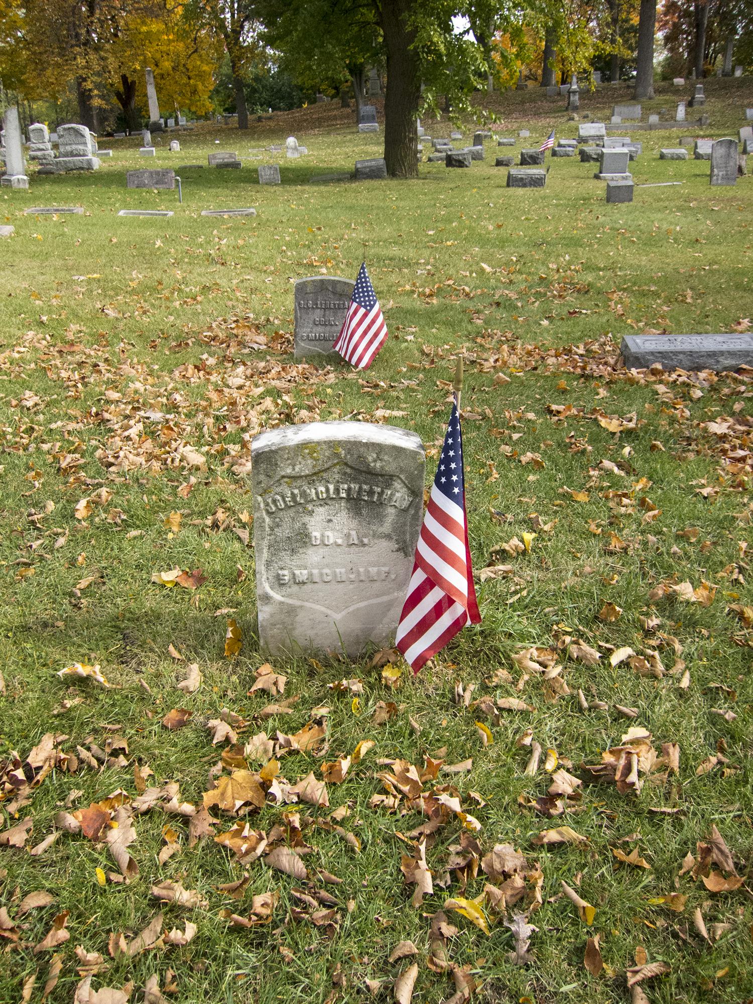 Fulton Cemetery, Grand Rapids, MI
