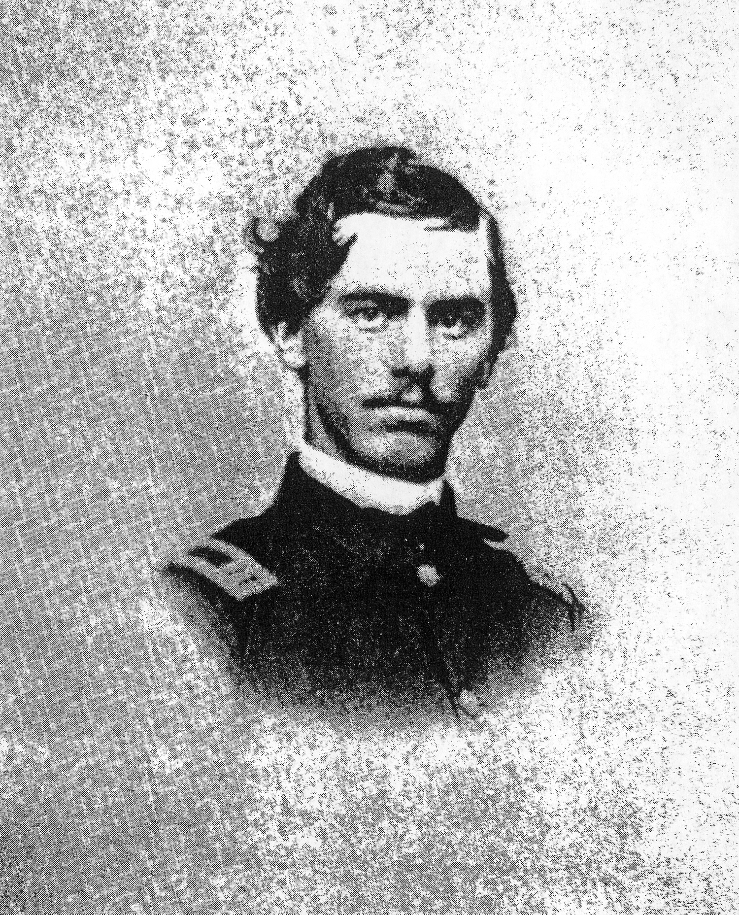 former cpl of the 3rd Michigan was serving as Major of the 6th Michigan cavalry when he was killed at Falling Waters, MD, on July 14, 1863; source: USAMHI