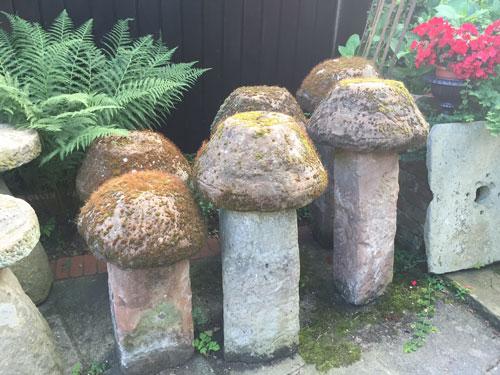 English Staddle Stones