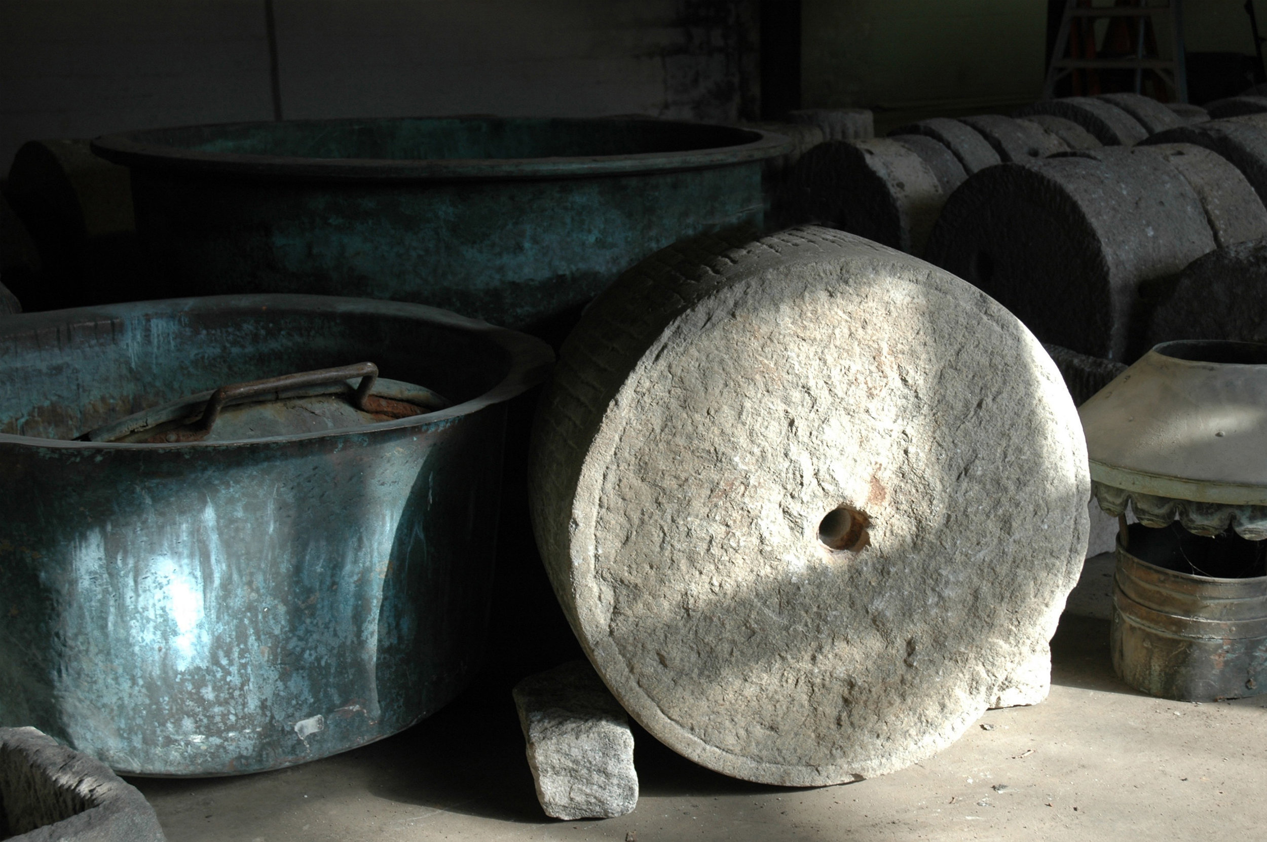 Large Granite Roller