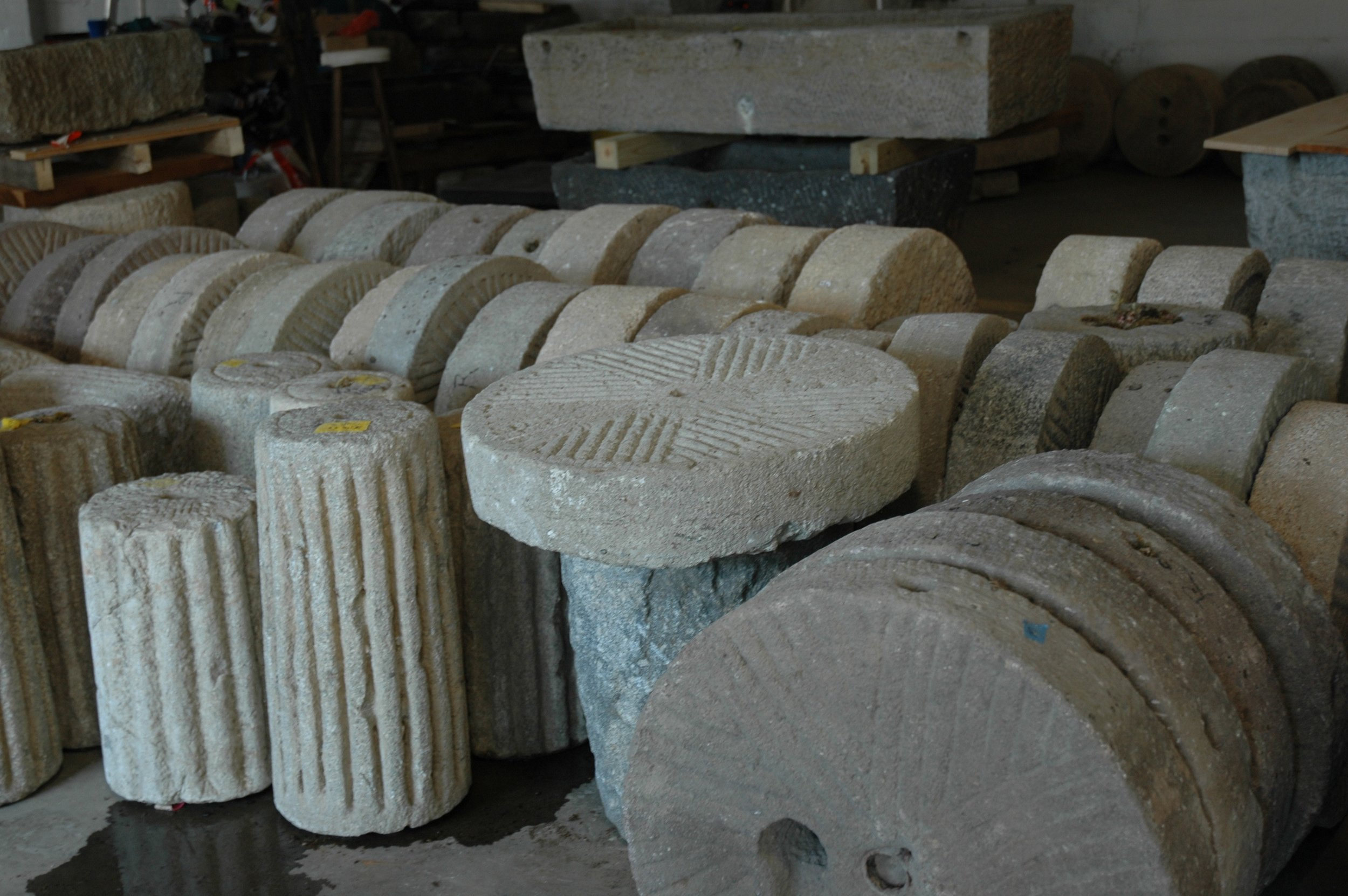 Copy of Granite Millstones and Rollers