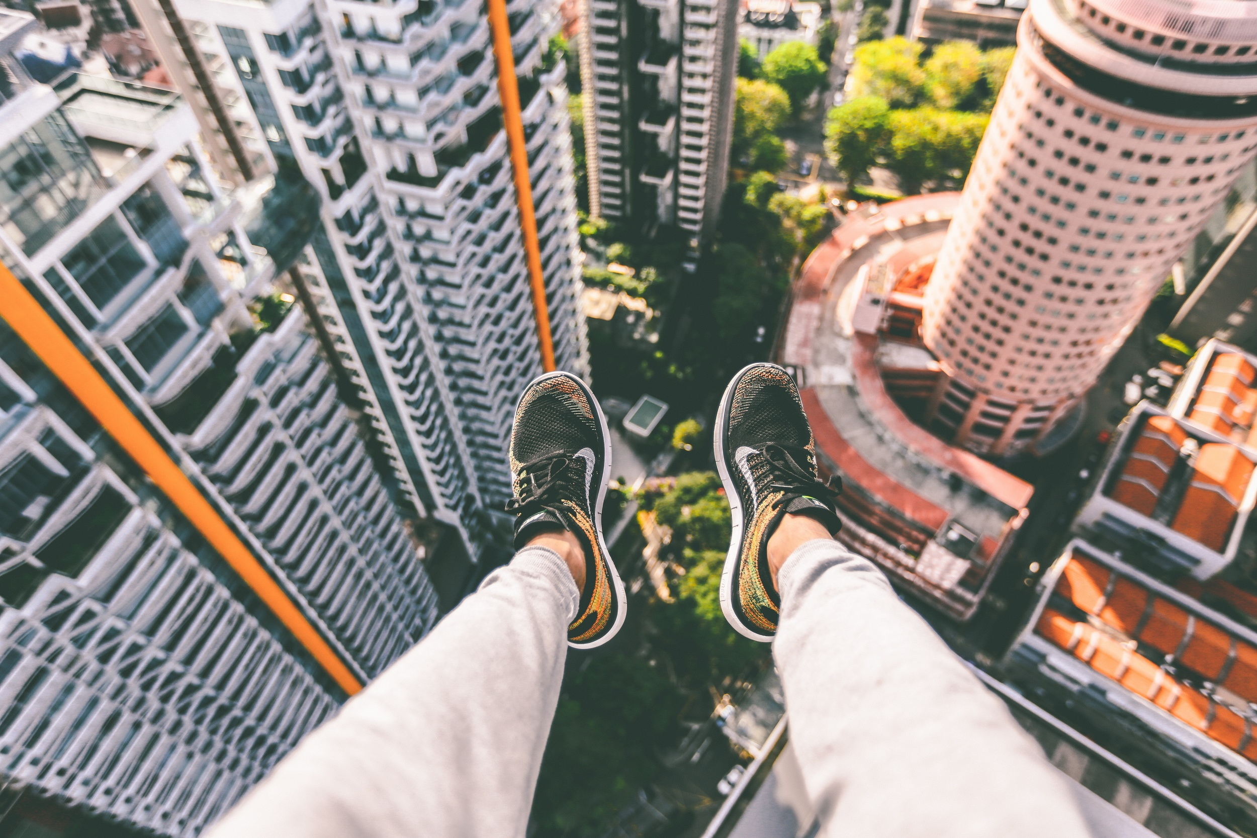 Take the leap into the unknown and embrace getting over your ex