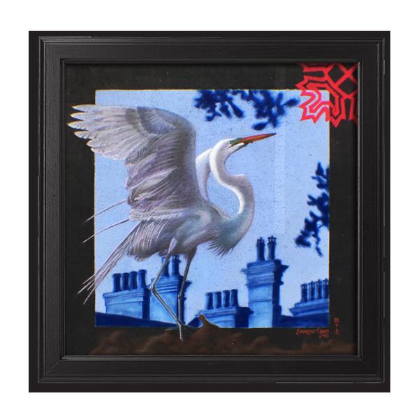 Great Rooftop Egret