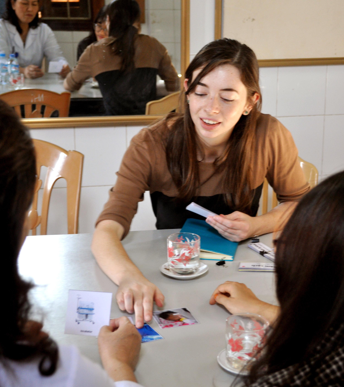 Interview with NICU hospital staff in Ha Nam, Vietnam