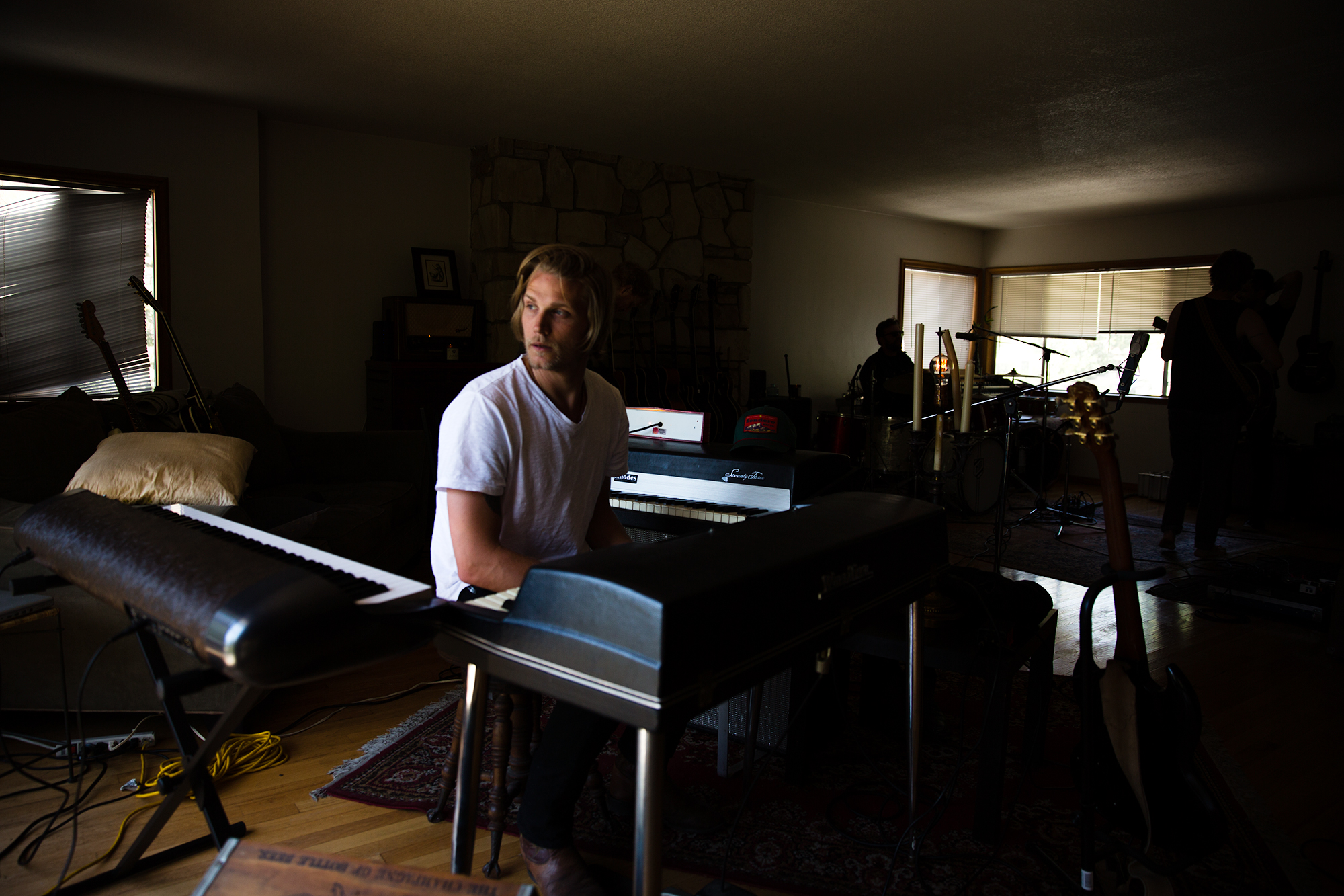 Mr. Chance in rehearsal in Los Angeles.