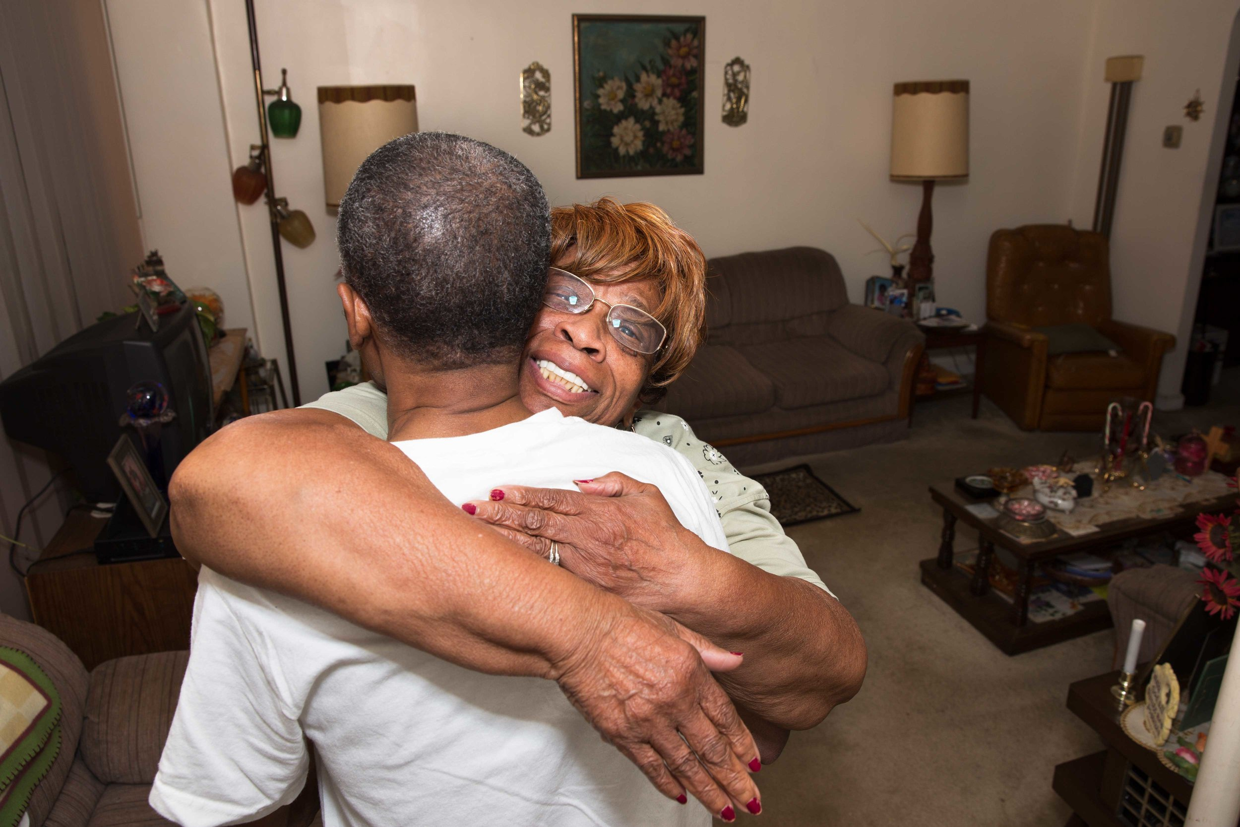 Willie Mae and Ronald reunite in Philadelphia after his release. Willie Mae said that when she found out he was coming home, only a week prior to this moment, she thanked the Lord for answering her prayers. Her greatest fear was she'd pass away and not get to spend time with her son.