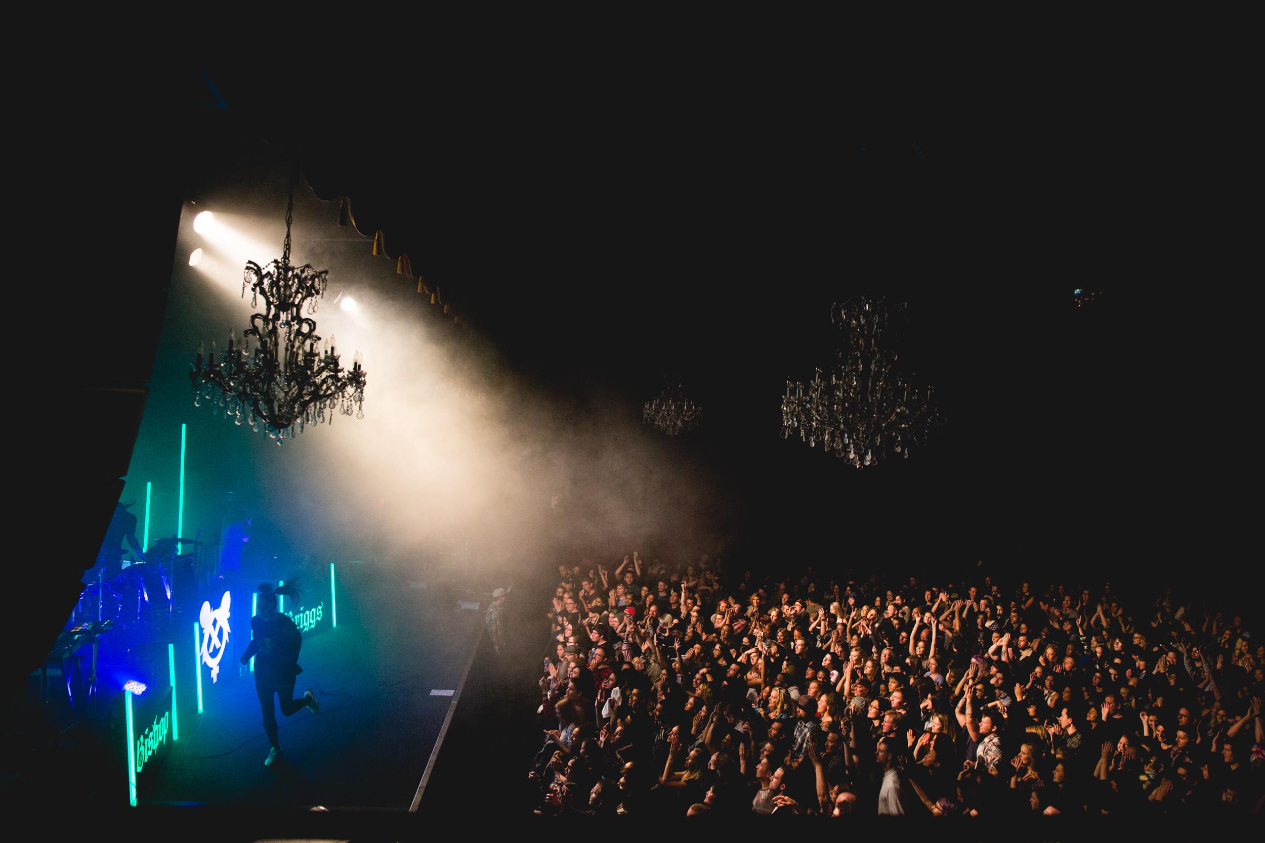 Bishop Briggs on tour across the US, 2017 & 2018.  Copyright: Universal Music Group & Bishop Briggs.