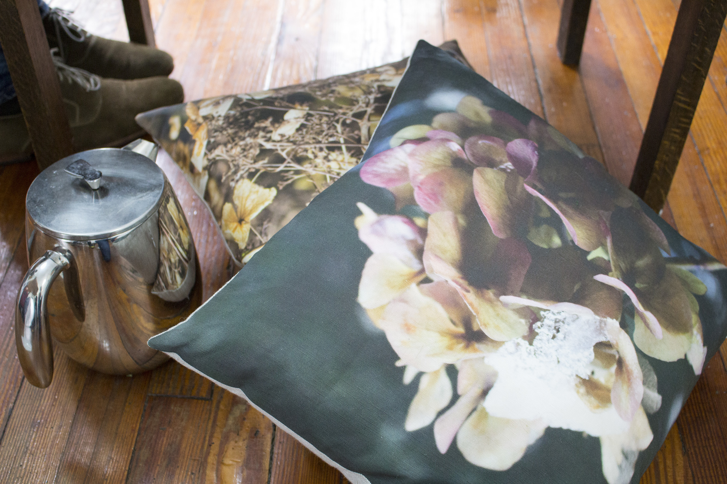 Want to give your mother(s) flowers? Give something that lasts: time, memories, and that beautiful hydrangea pillow she's been eyeing :)