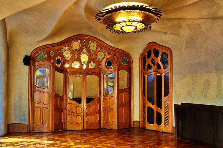A door by Gaudi is far more than door.