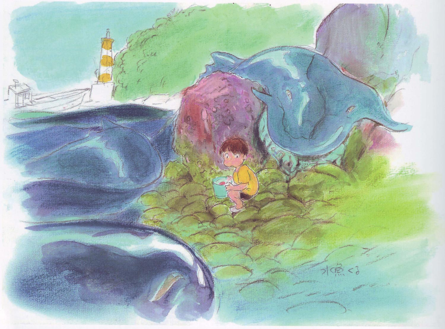 ponyo_on_the_cliff_by_the_sea_artwork_color_key__03.jpg
