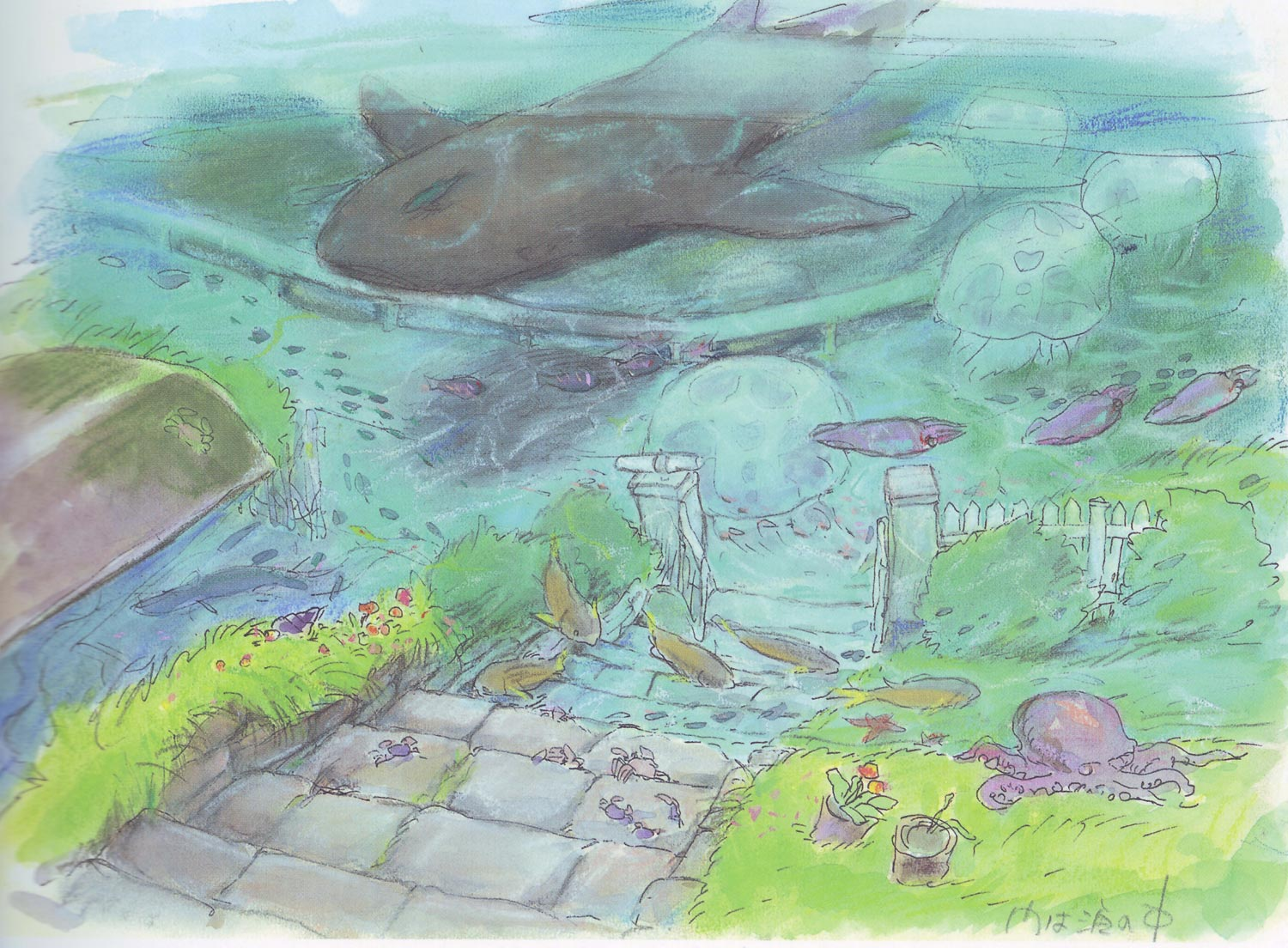 ponyo_on_the_cliff_by_the_sea_artwork_color_key__05.jpg