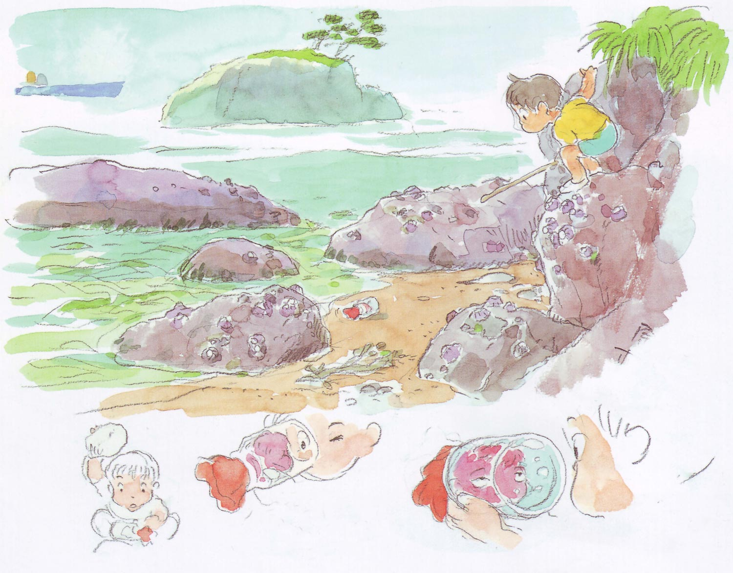 ponyo_on_the_cliff_by_the_sea_artwork_color_key__25.jpg