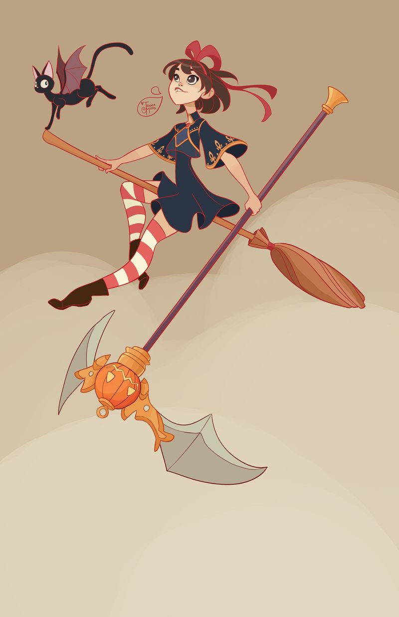 halloween_character_design___kiki_and_jiji_by_meomai-d9f6tj5.jpg
