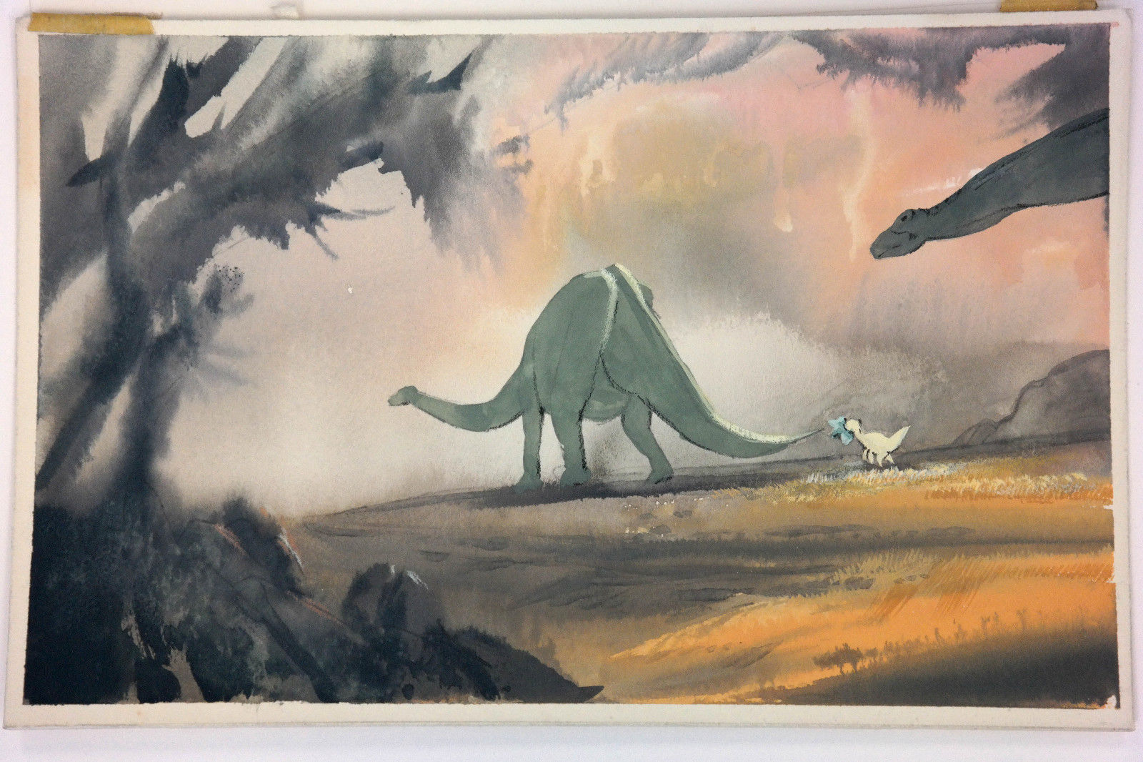 Land_Before_Time_COLOR_KEY_CONCEPT_Don_Bluth_Production_Art_LITTLEFOOT_CERA_rare.jpg