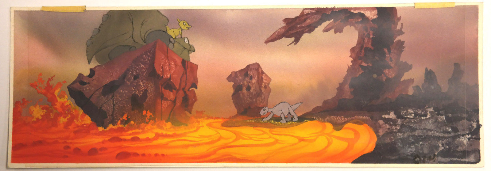 Littlefoot_Ducky_Spike_LAND_BEFORE_TIME_Key_Concept_DON_BLUTH_Production_cel_Art.jpg