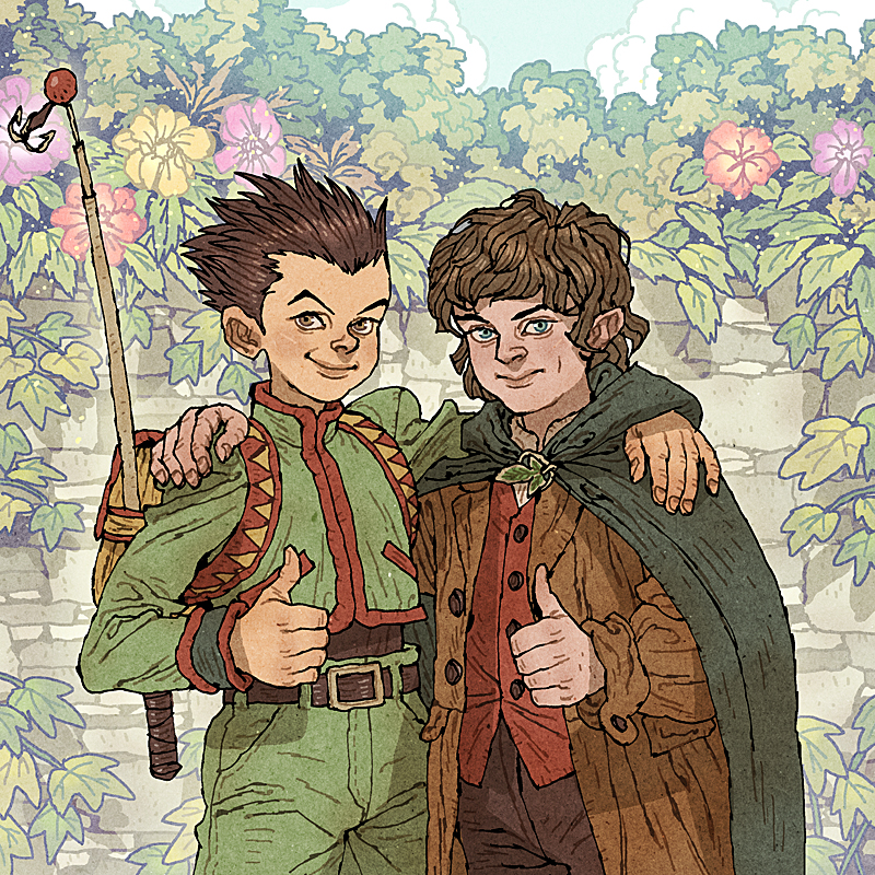 gon_and_frodo_by_afuchan-d6b4z8e.jpg
