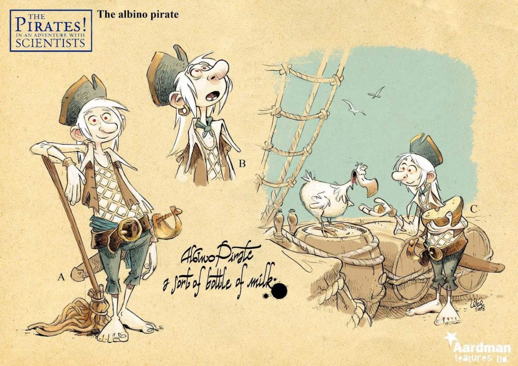 Art Of The Pirates In An Adventure With Scientists