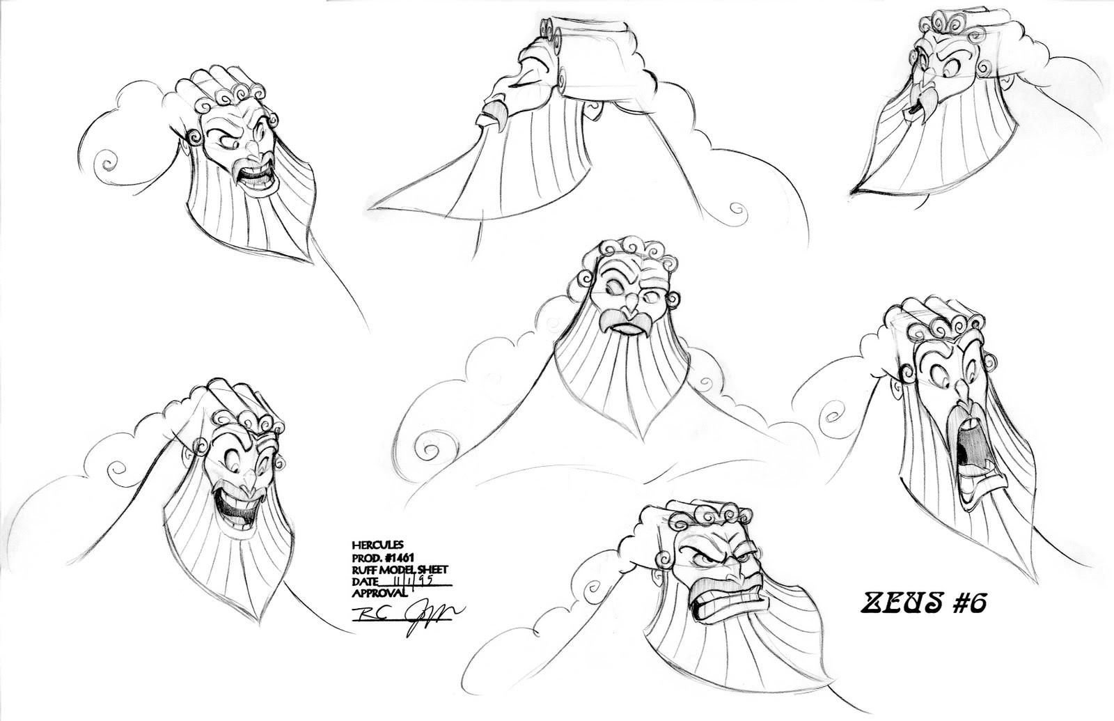 Hercule [Walt Disney - 1997] - Page 13 Zeus05