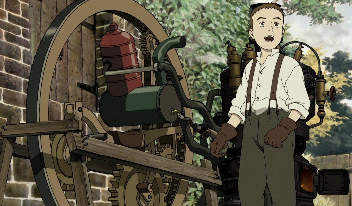Steam Boy mechanical book