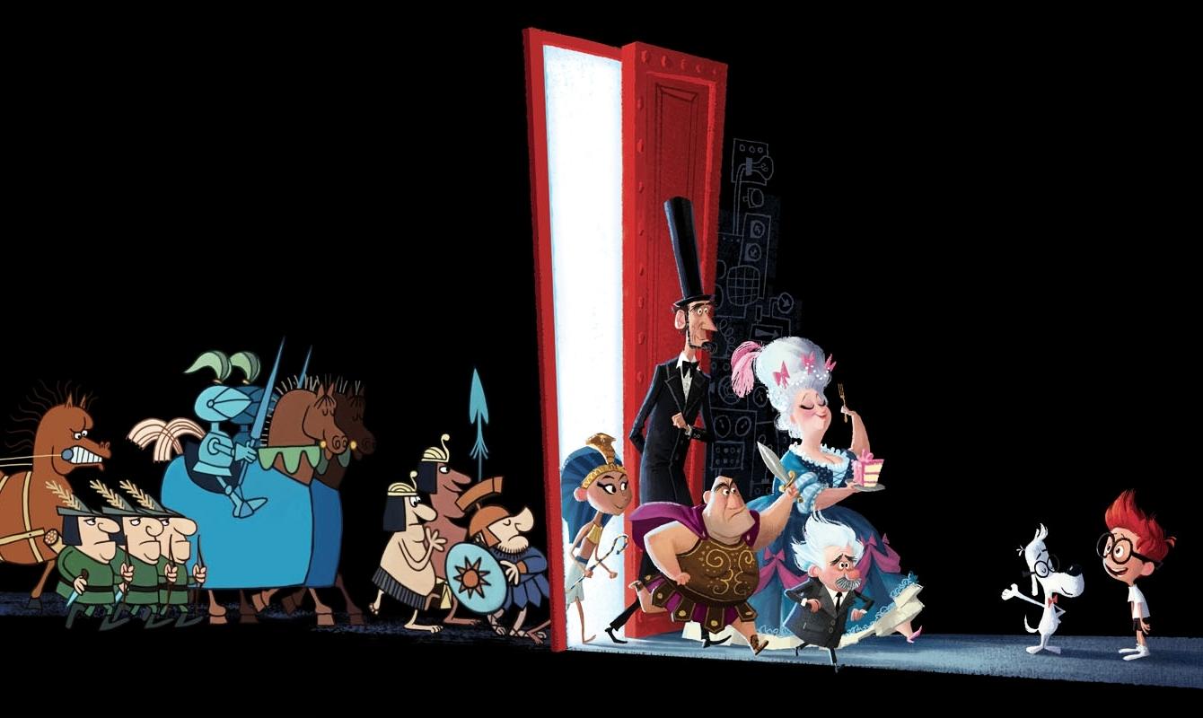Art of Mr  Peabody & Sherman