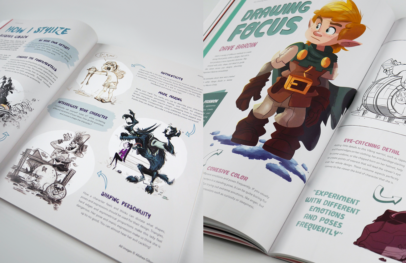Magazines For Character Designers