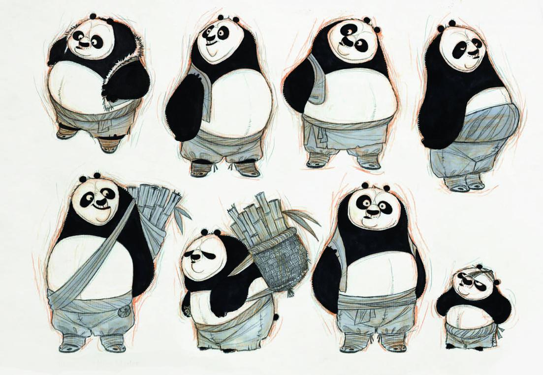 Art Of Kung Fu Panda Trilogy