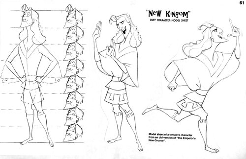 Kuzco, l'Empereur Mégalo [Walt Disney -2001] - Page 6 Art+of+the+Emperor%27s+New+Groove+A+-+11