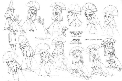 Kuzco, l'Empereur Mégalo [Walt Disney -2001] - Page 6 Art+of+the+Emperor%27s+New+Groove+A1+-+20