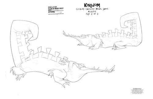 Kuzco, l'Empereur Mégalo [Walt Disney -2001] - Page 6 Art+of+the+Emperor%27s+New+Groove+A4+-+1