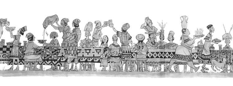 Kuzco, l'Empereur Mégalo [Walt Disney -2001] - Page 6 Art+of+the+Emperor%27s+New+Groove+A4+-+2