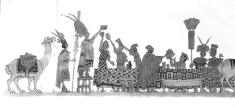 Kuzco, l'Empereur Mégalo [Walt Disney -2001] - Page 6 Art+of+the+Emperor%27s+New+Groove+A4+-+4
