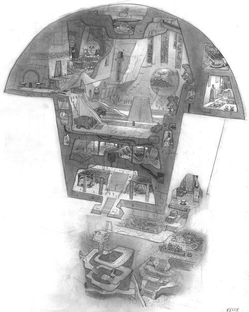 Kuzco, l'Empereur Mégalo [Walt Disney -2001] - Page 6 Art+of+the+Emperor%27s+New+Groove+D+-+3