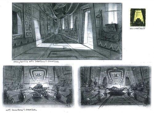 Kuzco, l'Empereur Mégalo [Walt Disney -2001] - Page 6 Art+of+the+Emperor%27s+New+Groove+D3+-+3