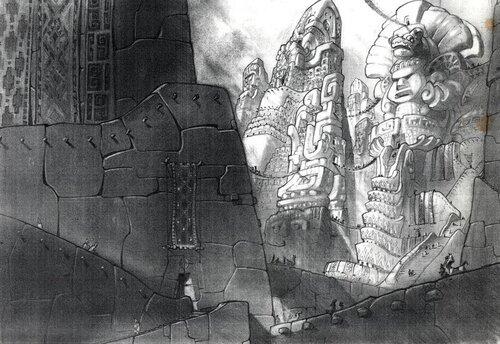 Kuzco, l'Empereur Mégalo [Walt Disney -2001] - Page 6 Art+of+the+Emperor%27s+New+Groove+E+-+74