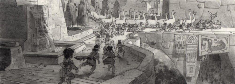 Kuzco, l'Empereur Mégalo [Walt Disney -2001] - Page 6 Art+of+the+Emperor%27s+New+Groove+E+-+102
