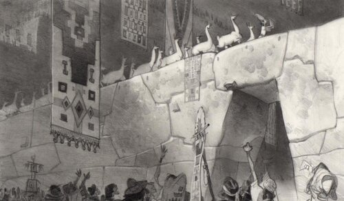 Kuzco, l'Empereur Mégalo [Walt Disney -2001] - Page 6 Art+of+the+Emperor%27s+New+Groove+E+-+103