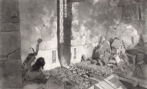Kuzco, l'Empereur Mégalo [Walt Disney -2001] - Page 6 Art+of+the+Emperor%27s+New+Groove+E+-+104
