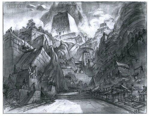 Kuzco, l'Empereur Mégalo [Walt Disney -2001] - Page 6 Art+of+the+Emperor%27s+New+Groove+E+-+122