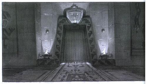 Kuzco, l'Empereur Mégalo [Walt Disney -2001] - Page 6 Art+of+the+Emperor%27s+New+Groove+E+-+125