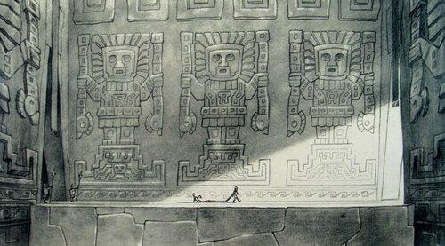 Kuzco, l'Empereur Mégalo [Walt Disney -2001] - Page 6 Art+of+the+Emperor%27s+New+Groove+E+-+131