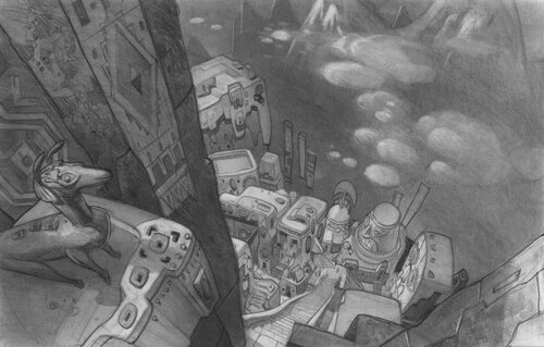Kuzco, l'Empereur Mégalo [Walt Disney -2001] - Page 6 Art+of+the+Emperor%27s+New+Groove+E+-+140