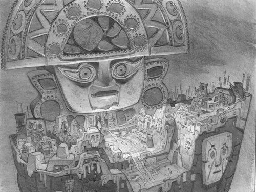 Kuzco, l'Empereur Mégalo [Walt Disney -2001] - Page 6 Art+of+the+Emperor%27s+New+Groove+E+-+142