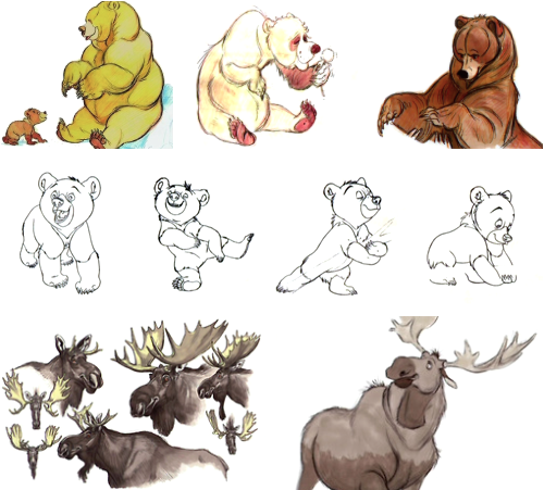 Frère des Ours [Walt Disney - 2003] - Page 4 Art+of+Brother+Bear+A4+-+19
