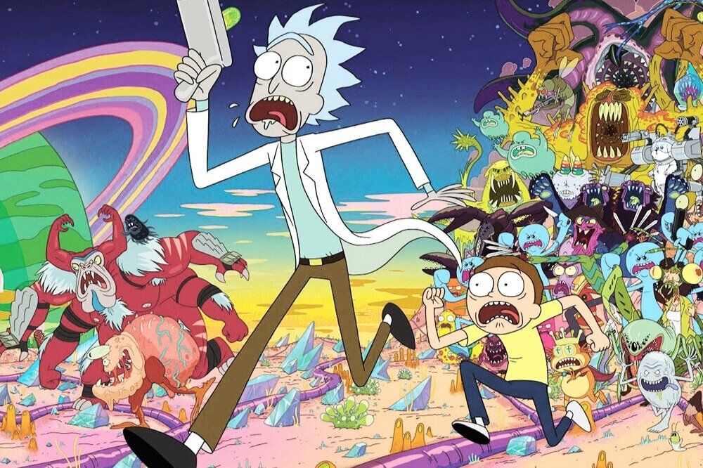 Art of Rick and Morty