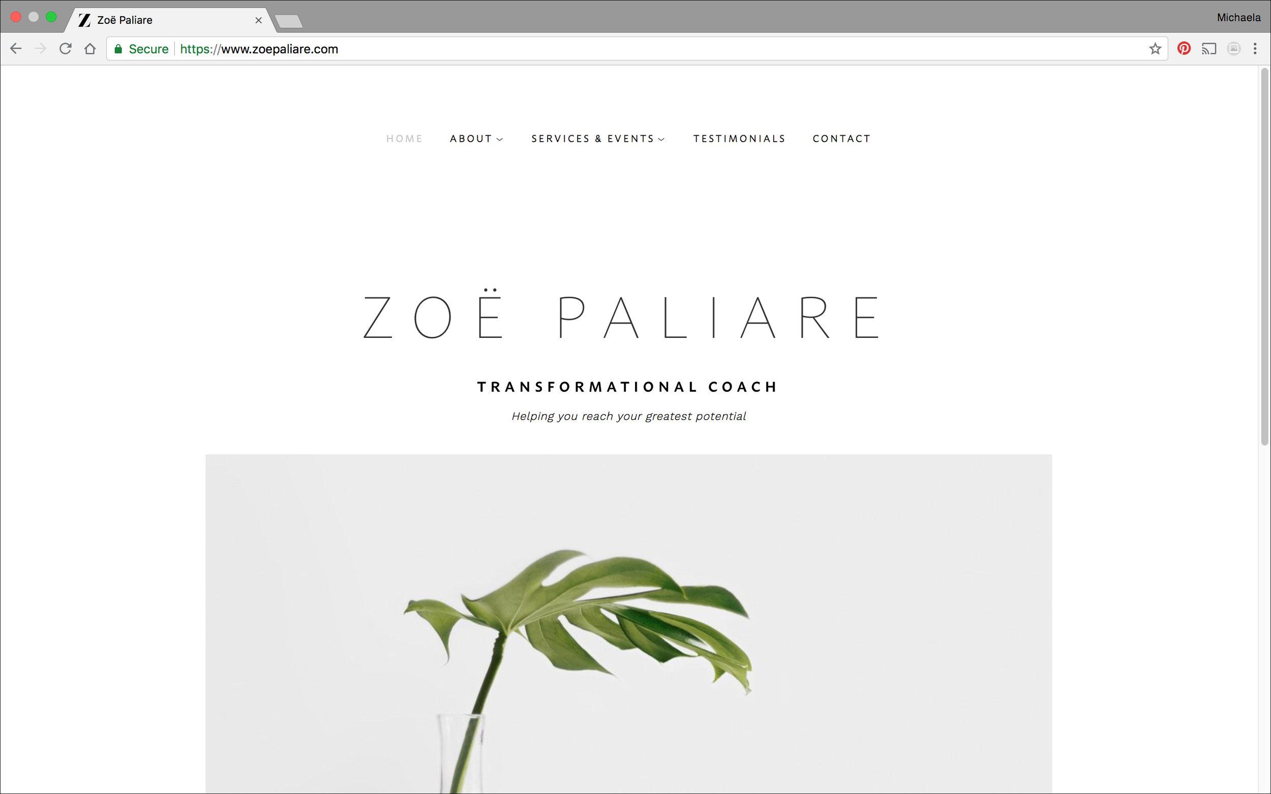 ZOE PALIARE
