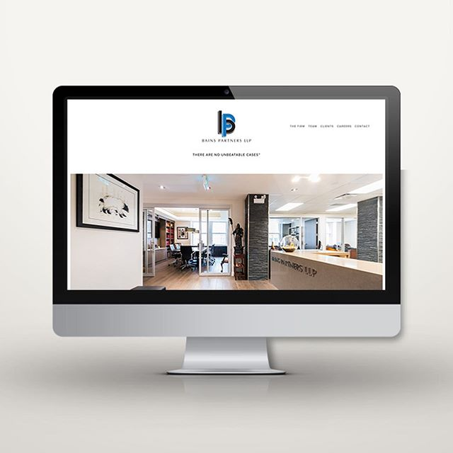 New website and imagery for Bains Partners LLP 📸🖥